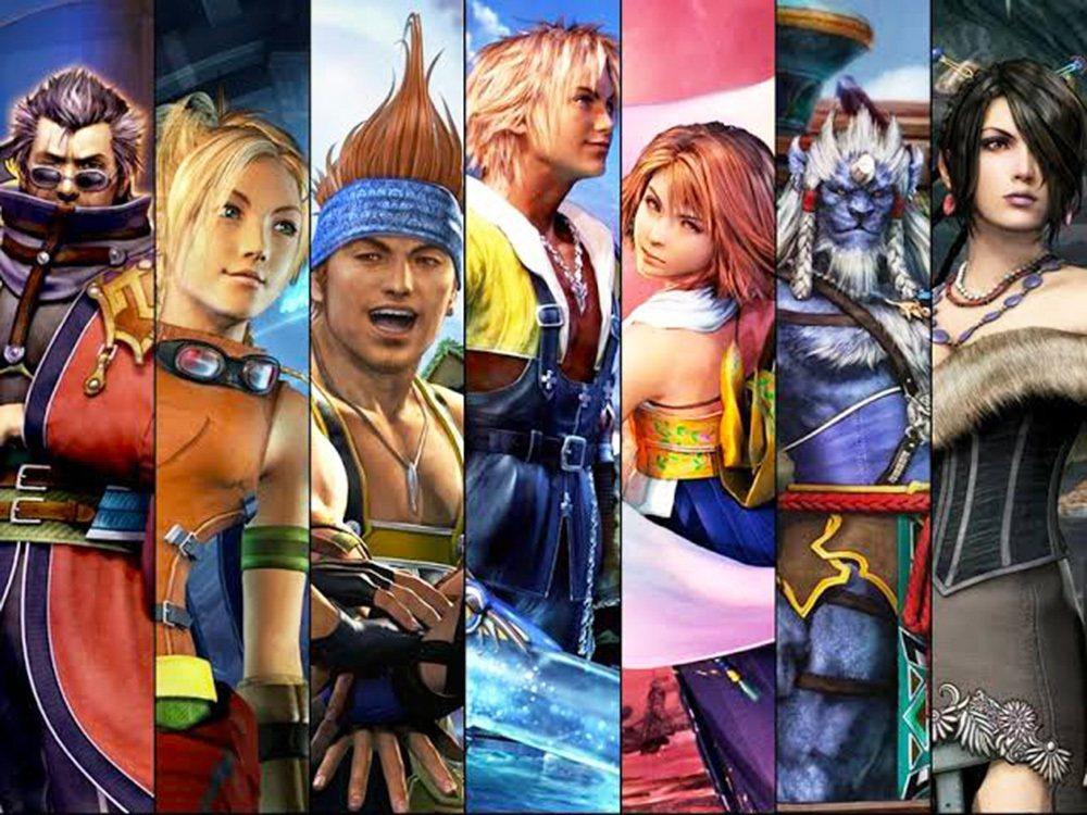 FFX 的七位主要角色,都有著各自不同的鮮明個性。