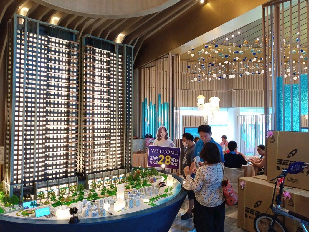 「愛琴海」特地規劃中小坪數的2~4房,以滿足年輕首購與退休族的購屋需求。攝影/吳...