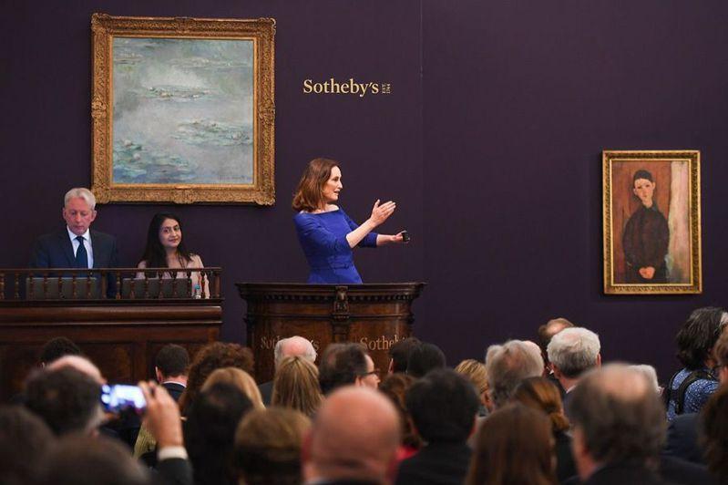藝術市場受疫情重創,但藝術拍賣品仍舊吸引著投資者。(Photo from網路截圖)