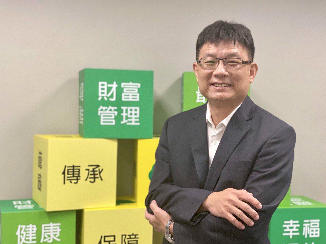 國泰世華銀行財富管理部協理陳文凱。圖/國泰金控提供