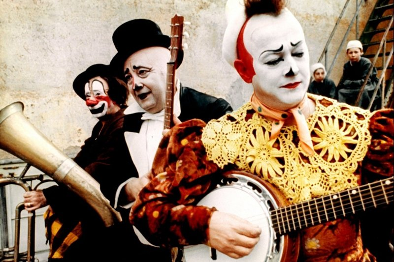 《小丑》(The Clowns, 1970)。 圖/金馬影展