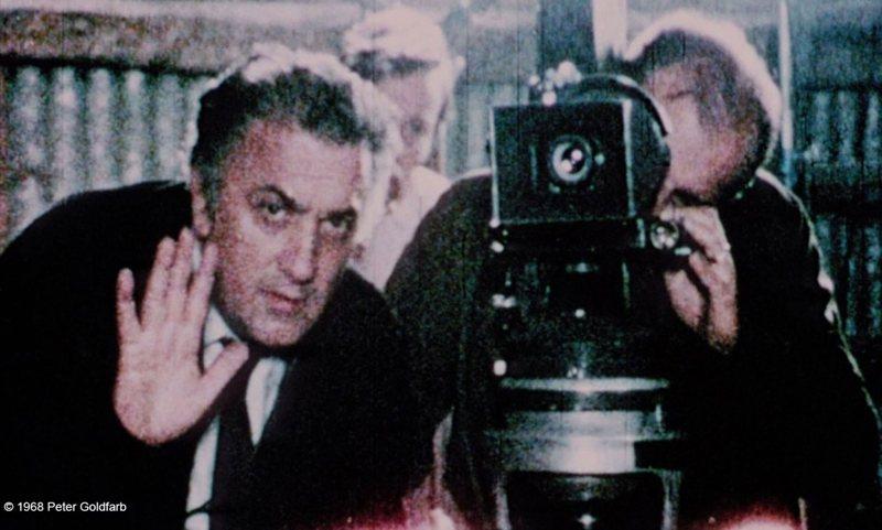 《導演筆記》(Fellini: A Director's Notebook, 1969)。 圖/金馬影展