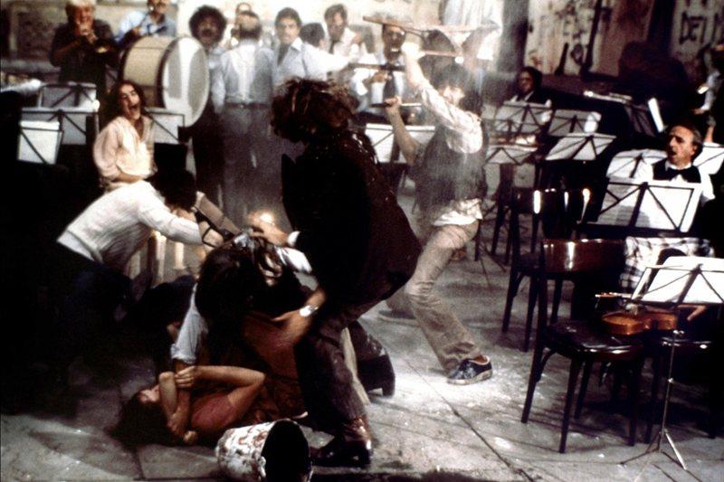 《樂隊排演》(Orchestra Rehearsal, 1978)。 圖/金馬影展