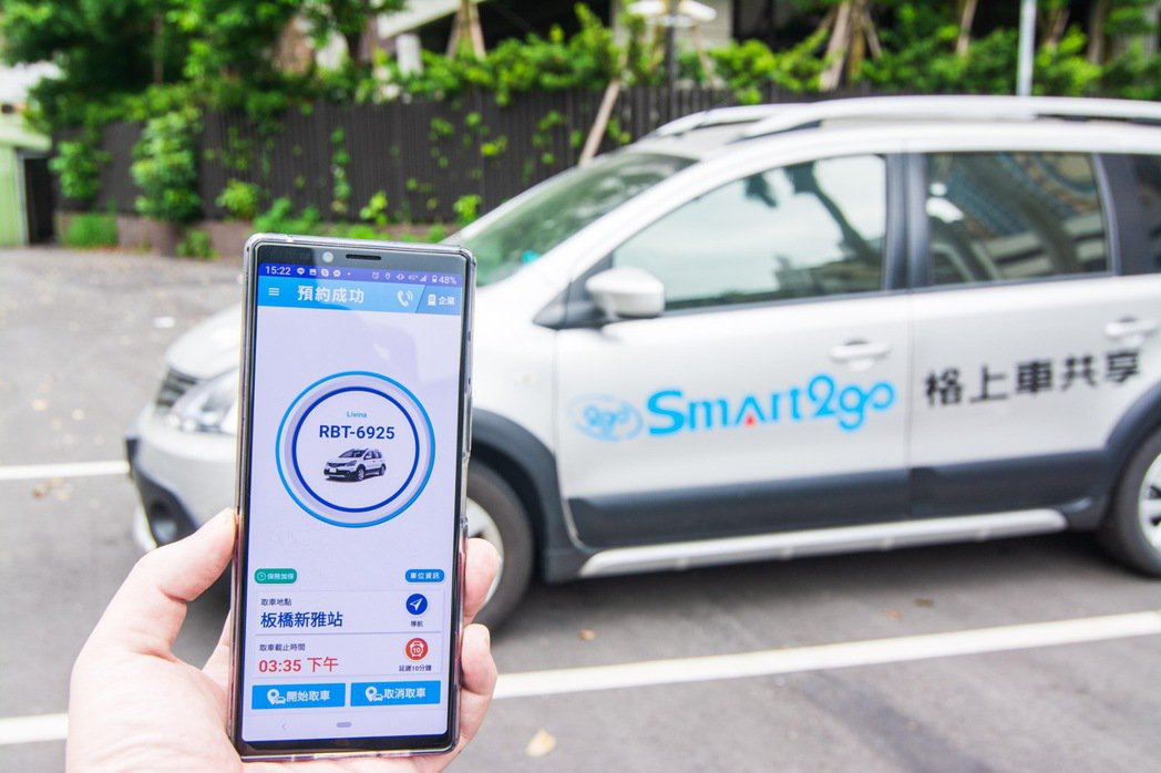 Smart2go 持續在都會區捷運沿線、交通樞紐等熱區布局專屬停車場。 圖/格上...
