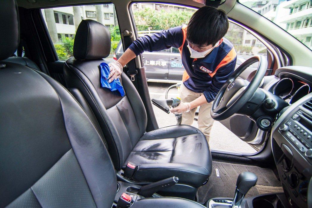 Smart2go重視安心、清潔、便利的訴求,獲得消費者認同。 圖/格上租車提供