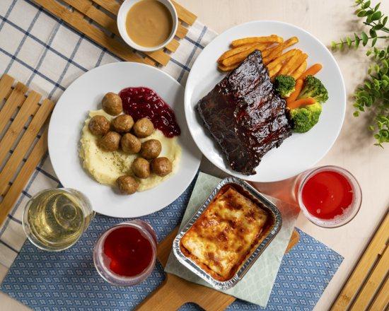 除了提供豐富的單點與套餐選擇,IKEA特別推出外送平台限定的多人分享餐,一次網羅...