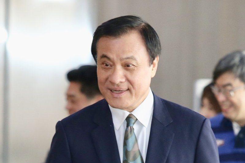 總統府秘書長蘇嘉全。報系資料照片