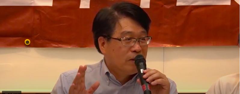 台灣民意與政策顧問公司首席顧問游盈隆教授。記者賴佩璇/翻攝