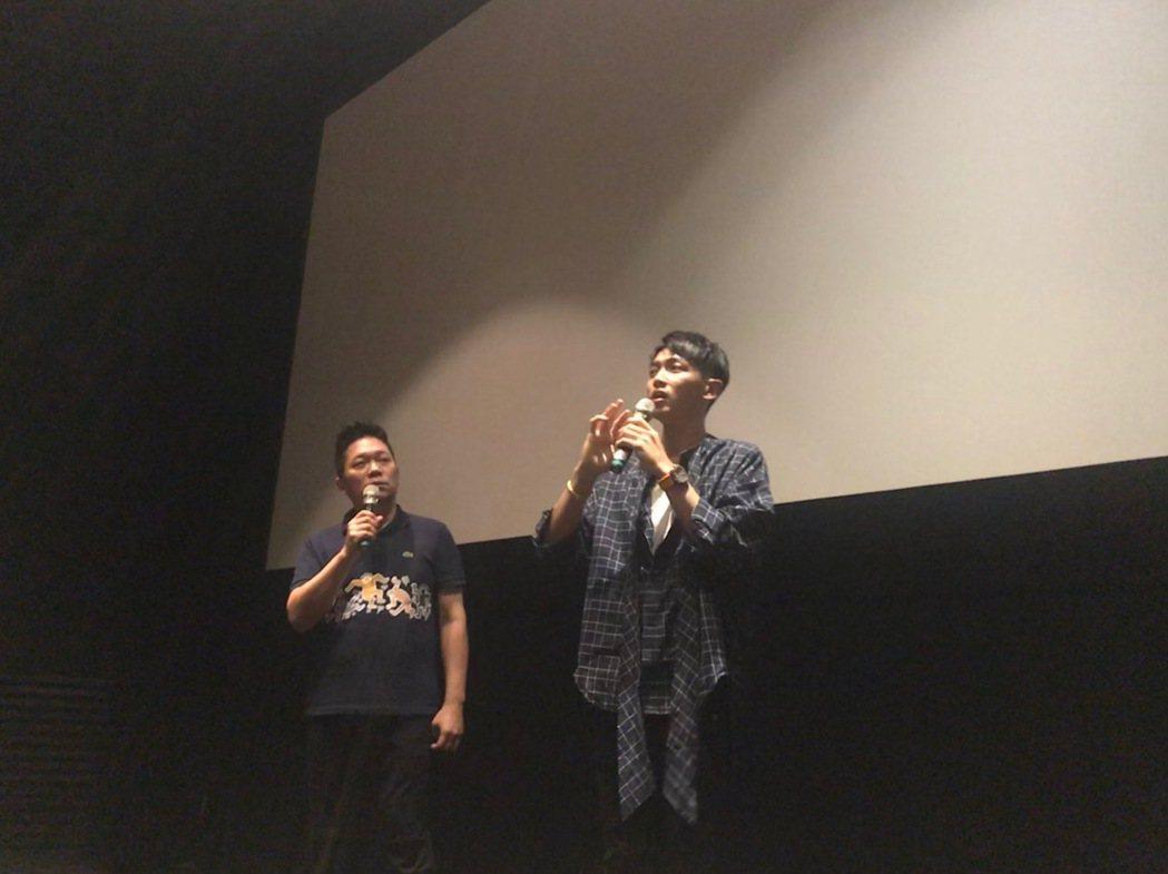 「打噴嚏」上映首周柯震東戲院狂跑30場謝好謝滿圖/傳影提供