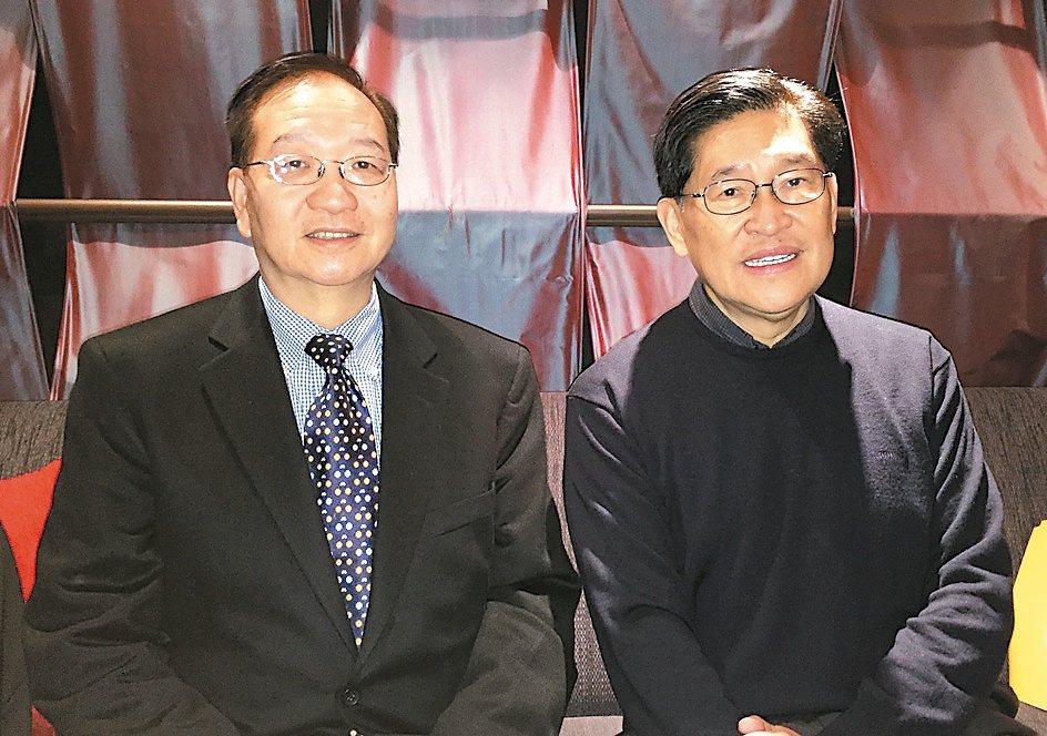 生華科董事長胡定吾(右)與總經理宋台生(左)(本報系資料庫)