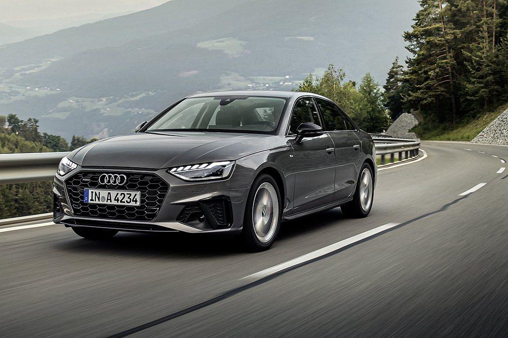 小改款Audi A4/A4 Avant正式在台灣展開預售作業。 圖/Audi提供