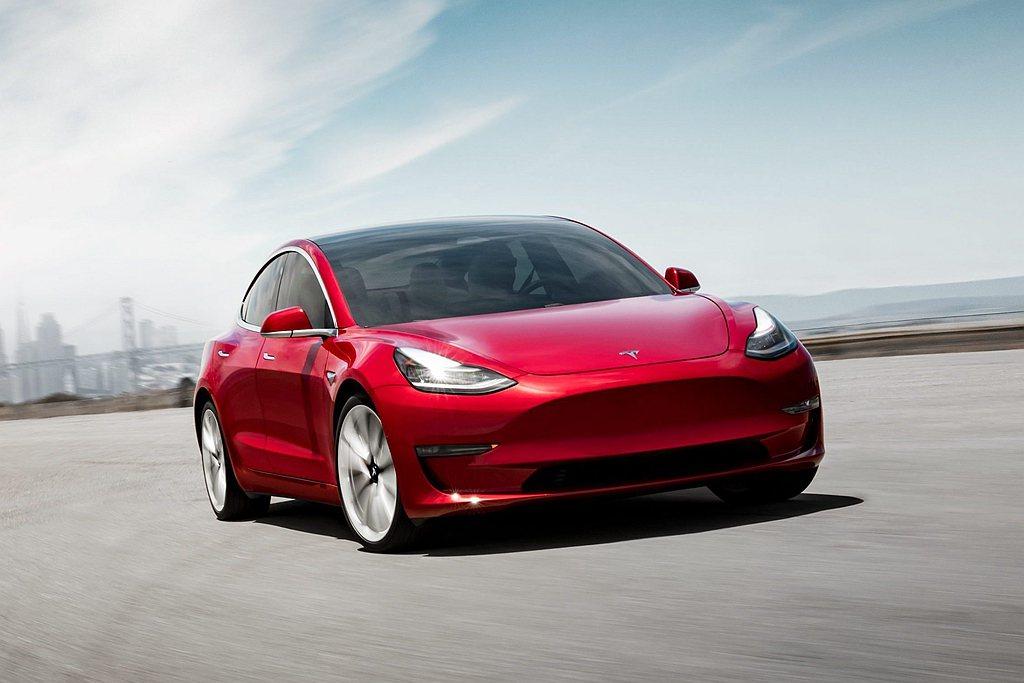 特斯拉第3季在台掛牌數突破1,850輛。 圖/Tesla提供