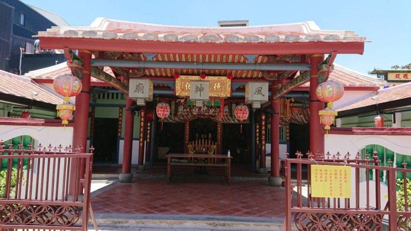 風神廟是國內唯一供奉星宿的廟宇。 圖/鄭惠仁 攝影