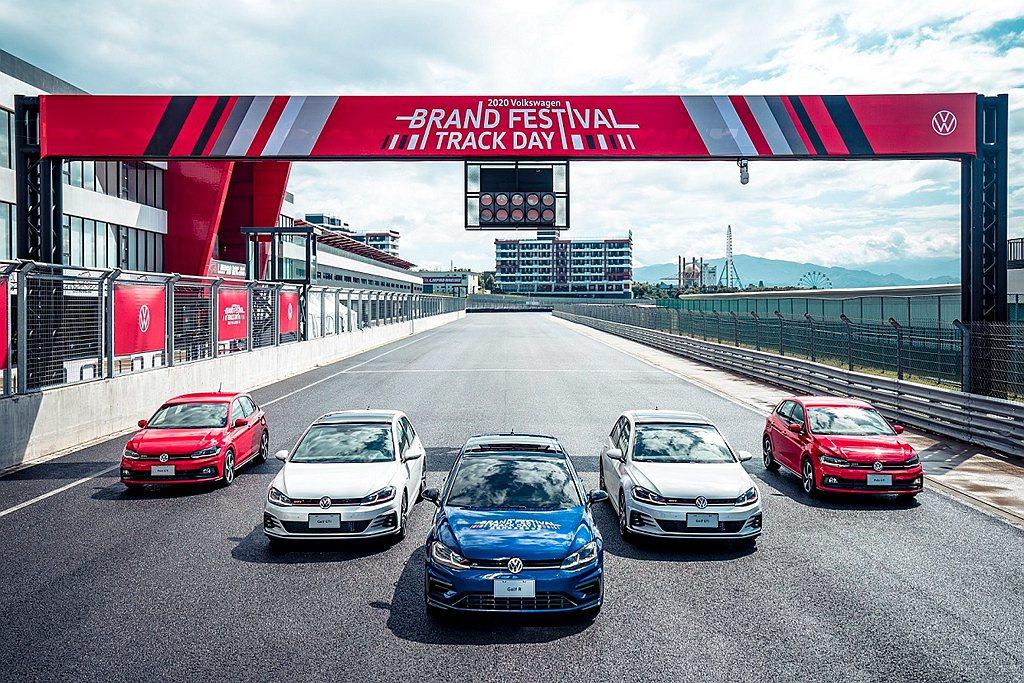 活動最後以「賽道巡禮」作為謝幕儀式,所有在場的Volkswagen車主受邀駕愛車...