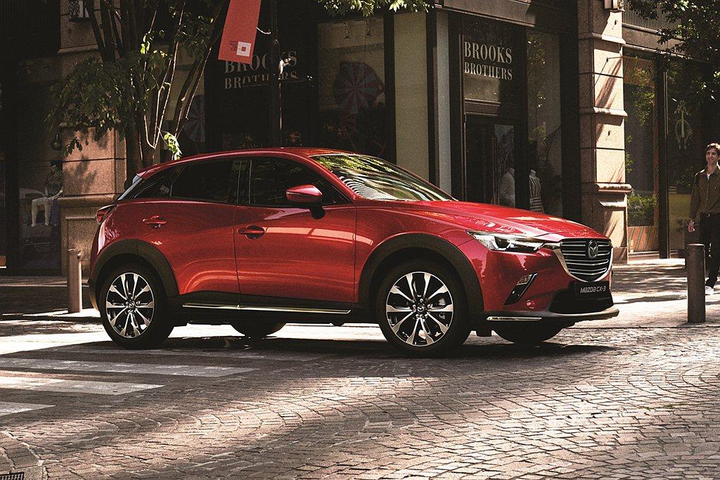 台灣馬自達針對Mazda CX-3進行銷售編成調整,提供頂級羨定版及旗艦羨定版兩...