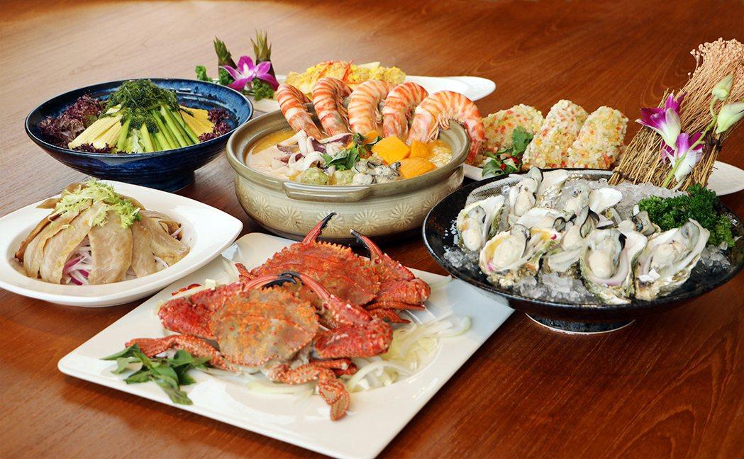 豪邁海鮮宴-明蝦