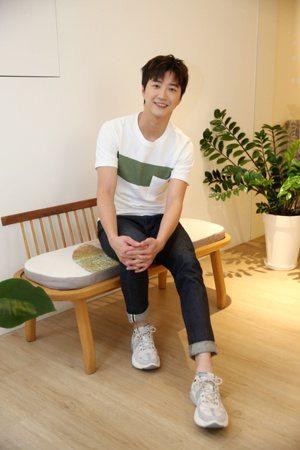 桌球好手江宏傑年僅31歲,外型帥氣更有「桌球王子」之稱。 圖/邱德祥 攝影
