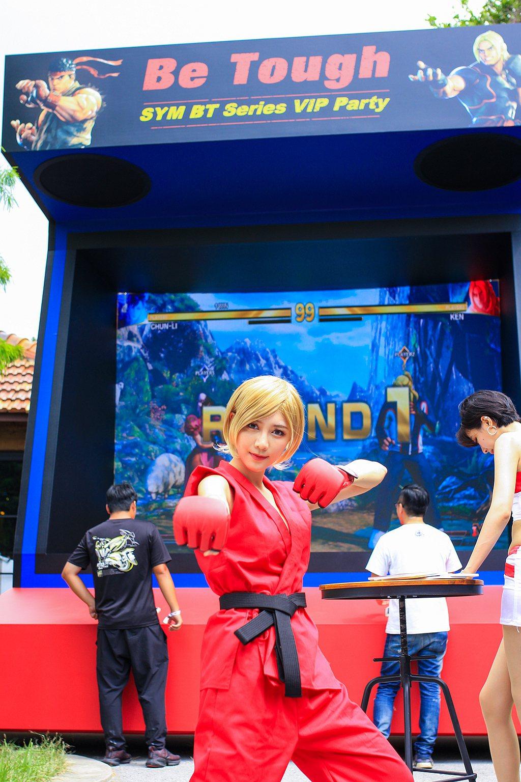 配合「SYM x Street Fighter V」的熱血跨界聯名,此次活動滿滿...