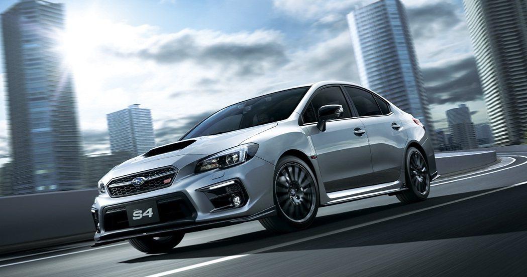 Subaru WRX S4(日規)。 摘自Subaru