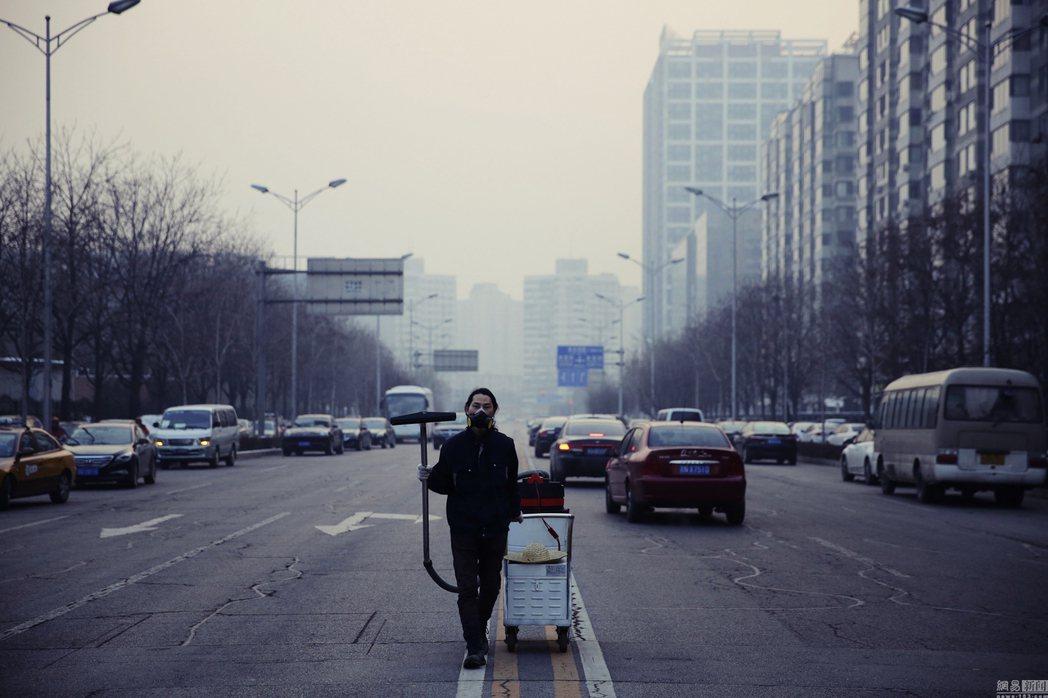 2015年堅果兄弟「塵埃計畫」。 圖/中新社