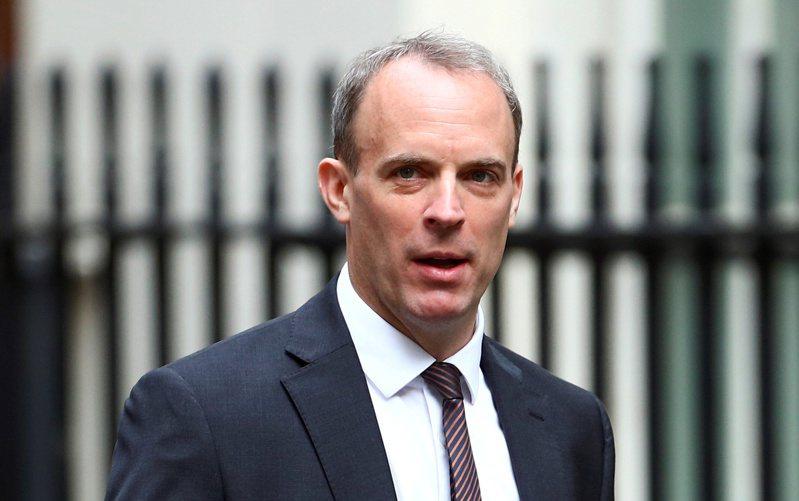 英國外相拉布廿日宣布,暫停英國與香港的引渡協議。路透