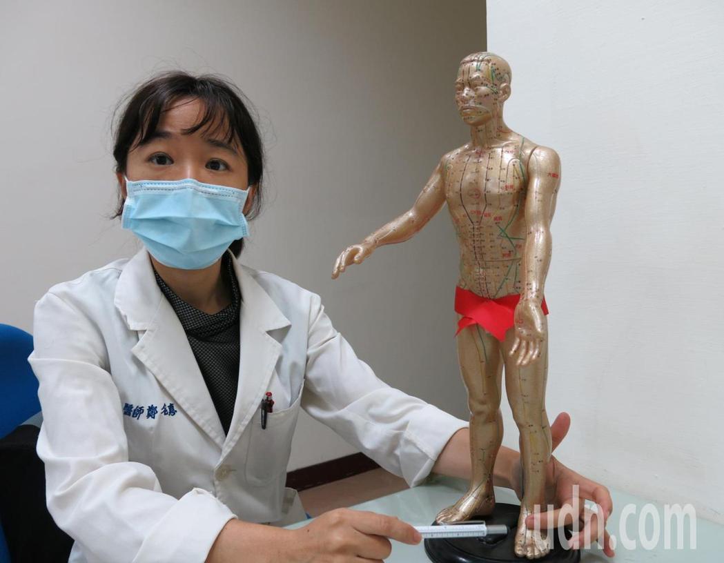 衛福部豐原醫院中醫科醫師鄭名惠表示,體質調理好,受孕就容易。記者游振昇/攝影