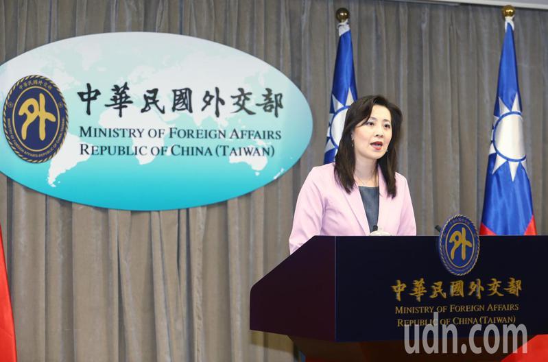 外交部發言人歐江安。報系資料照/記者曾原信攝影
