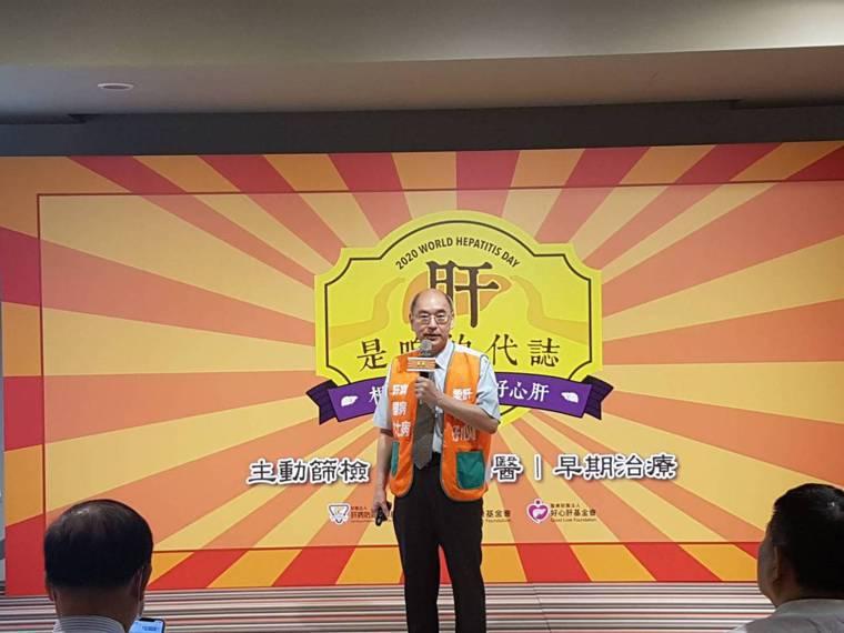 楊培銘建議矯正署能與衛生單位合作,達到監獄C肝「微根除」。記者楊雅棠/攝影