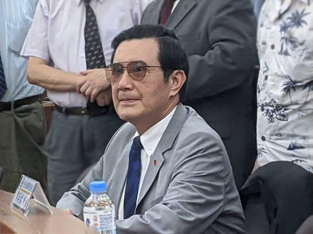 前總統馬英九。記者劉宛琳/攝影