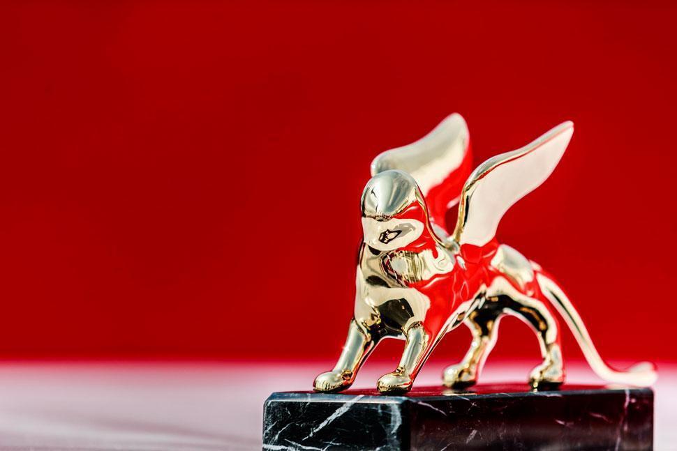 威尼斯影展終身成就金獅獎,是全球影人視為尊榮的肯定。圖/摘自官網