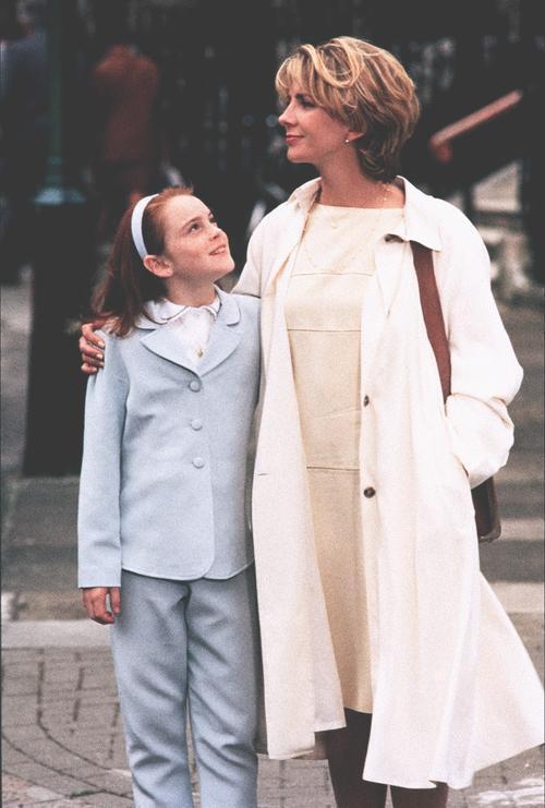 琳賽蘿涵懷念「天生一對」中演媽媽的娜塔莎李察遜。圖/摘自imdb
