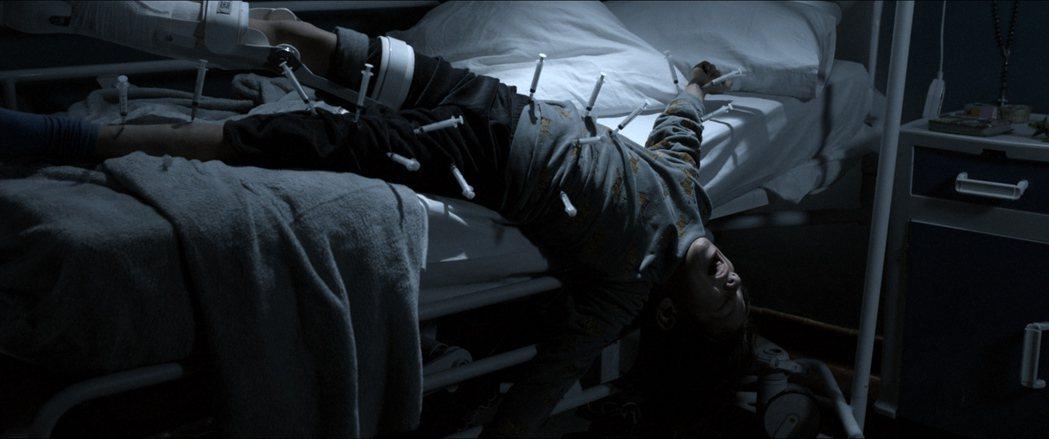 「6號鬼病床」男童遭虐畫面駭人。圖/威視提供