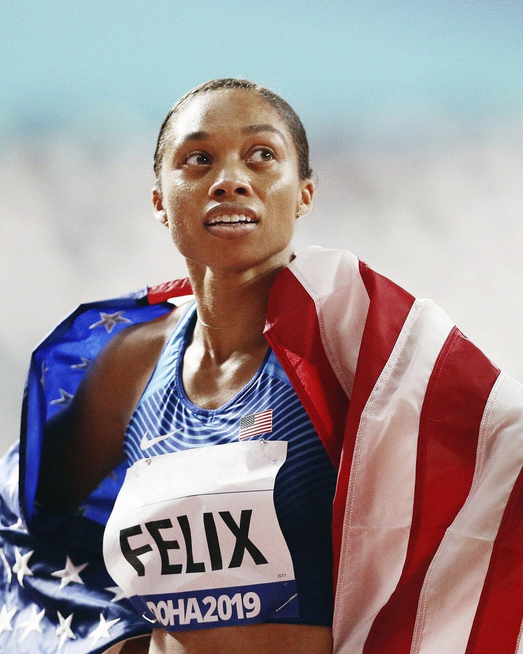 六面奧運金牌田徑選手 Allyson Felix。 Airbnb /提供