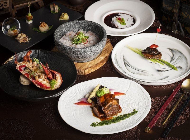 北投麗禧雍翠庭夏季新推出的「典藏海陸套餐」,以波士頓龍蝦與牛肋排為主軸。 北投麗...