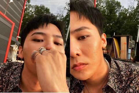 韓國天團BIGBANG的隊長G-Dragon(GD),去年10月退伍後,公開活動不多,不過日前他在IG上分享近照,疑似趁工作空檔自拍,但是仔細看可發現,他臉部的膚況似乎不太好。GD在IG上分享自拍照...