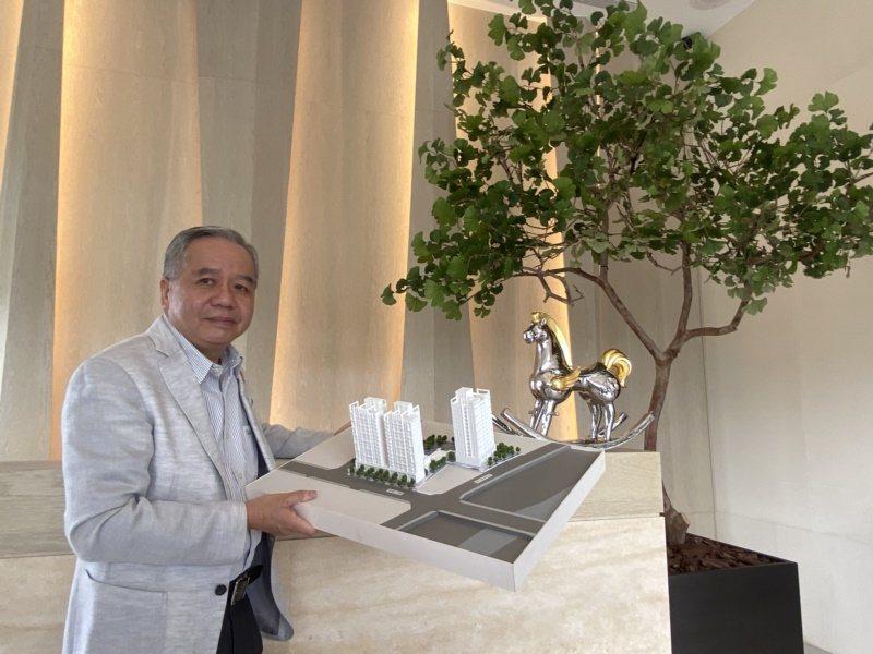 雋業建設開發董事總經理鍾尹堂。 圖/趙容萱 攝影