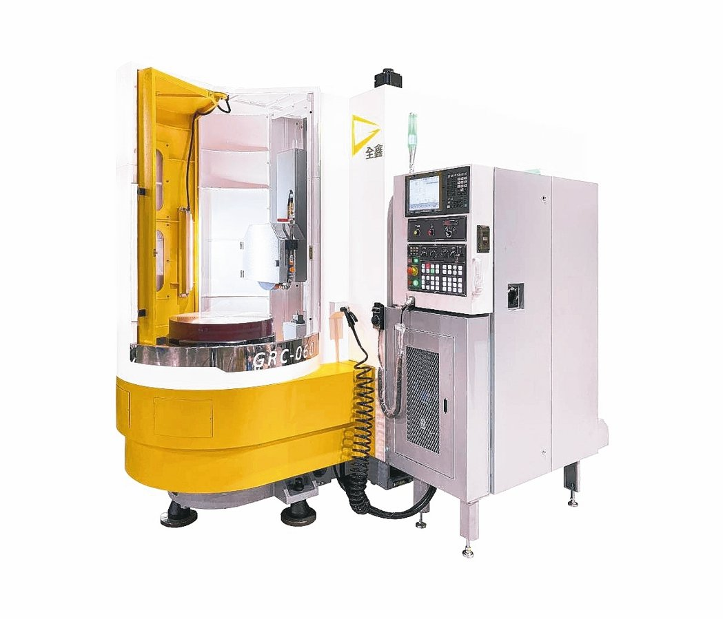 臥式轉台平面磨床GRC-060/GRC-080。 全鑫精密工業公司/提供