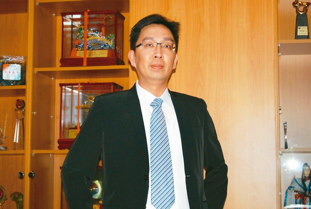 逢吉工業執行長鄭志鵬。 魯修斌/攝影