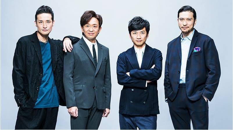 TOKIO(東京小子)唱長瀨智也(右)明年3月底離開傑尼斯。 圖/擷自傑尼斯官網