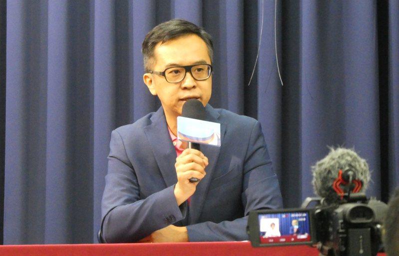 國民黨文傳會副主委黃子哲。圖/聯合報資料照片