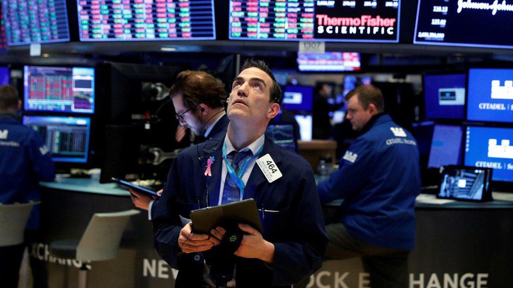 美股21日尾盤漲幅收斂。 (圖/路透)