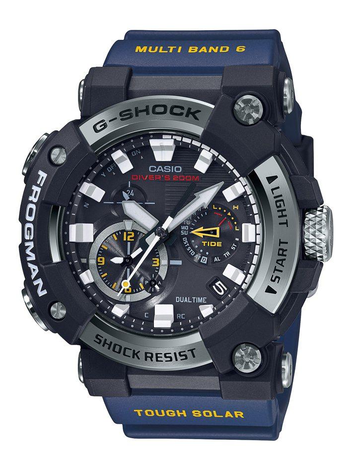 G-SHOCK FROGMAN系列GWF-A1000-1A2腕表25,000元。