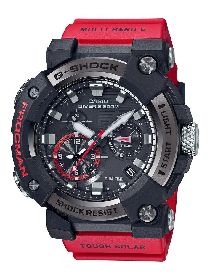 G-SHOCK FROGMAN系列GWF-A1000-1A4腕表25,000元。