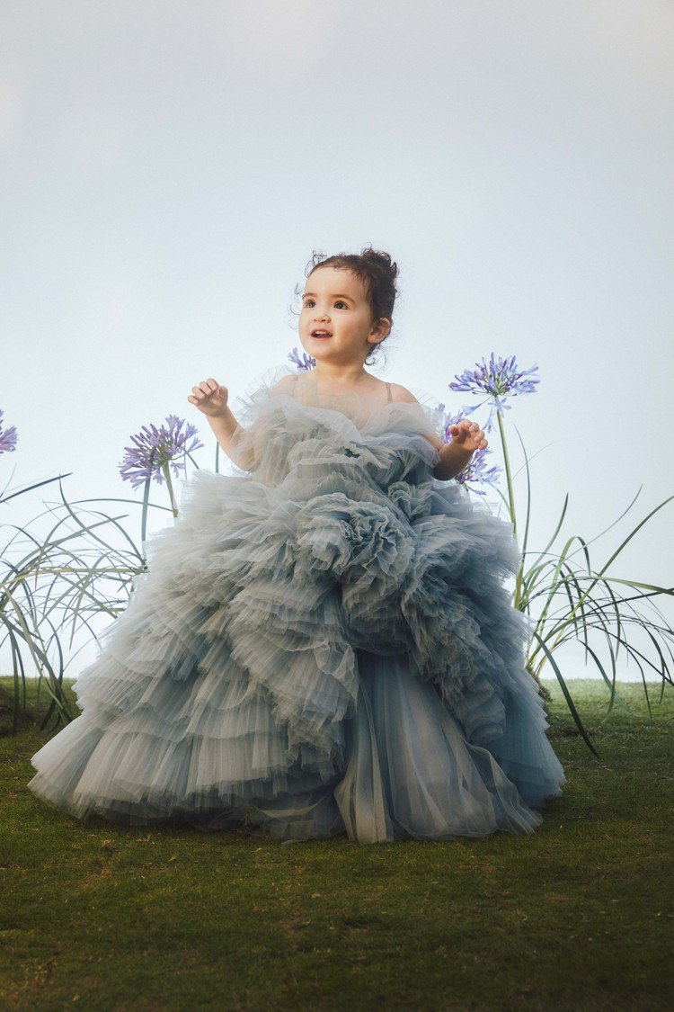 LinLi Boutique推出迷你高級訂製禮服。圖/LinLi Boutiqu...