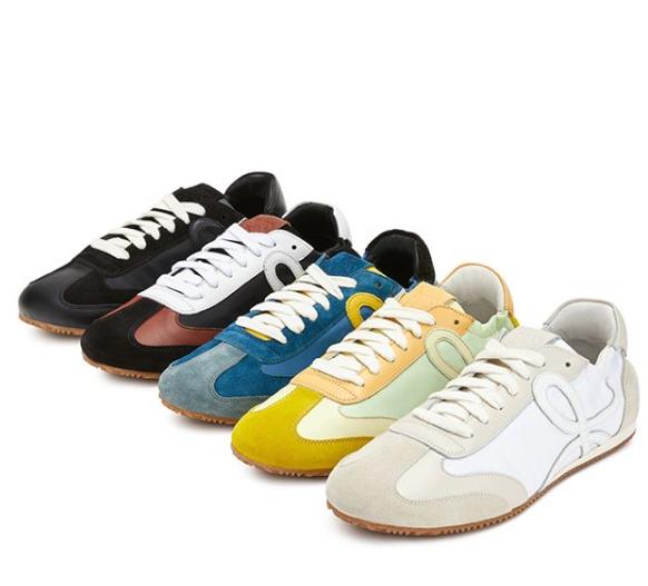 LOEWE Ballet runner運動鞋系列共推出5個顏色。圖/LOEWE提...