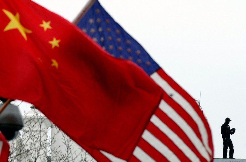中美緊張關係升高,中國廣電總局下令播反美電視劇。圖/取自法新社