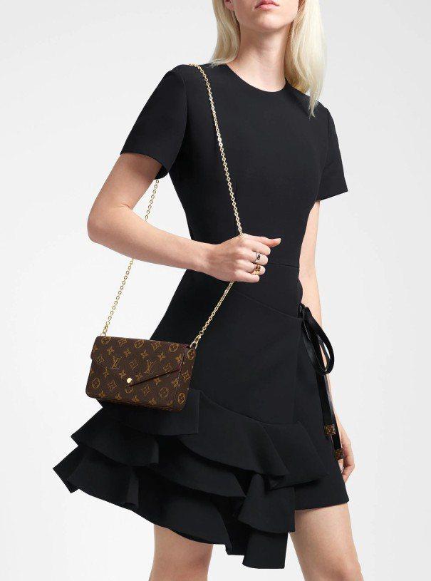 Louis Vuitton旗下Pochette Félicie多功能收納包也是經...