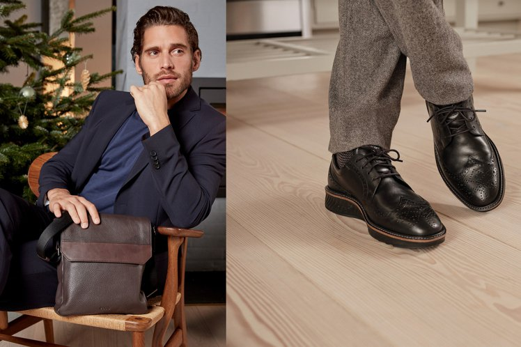 鞋履品牌要將振興券的價值再放大,幫助消費者輕鬆替爸爸們打點帥氣新行頭。圖/ECC...