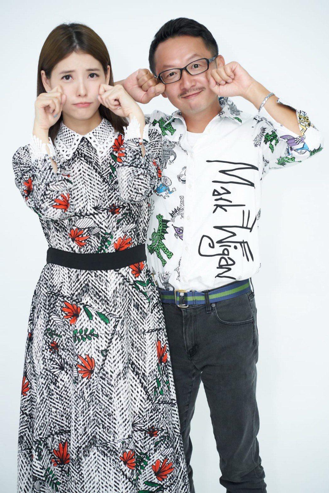 王樂妍(左)與星座塔羅老師王奇在Youtube開啟「WC二次方」頻道。合作主持節...