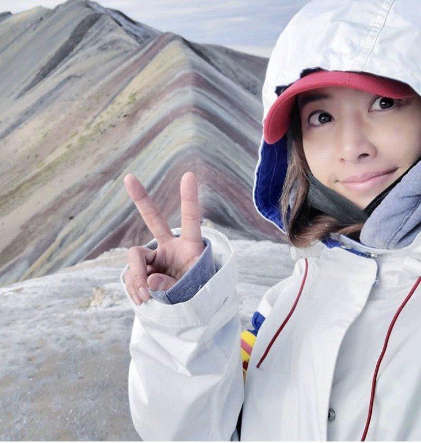 蔡依林進戲院支持溫馨絕美電影「不丹是教室」。圖/摘自蔡依林IG